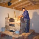 Backhaus, Juni 2012 - Backofenbau