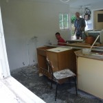 Rekonstruktion Badkantine, Juni 2012