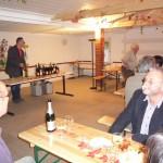 Weinprobe, Oktober 2012